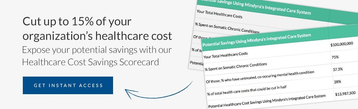 healthcare cost savings scorecard